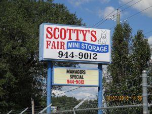 Scotty's Fair Mini Storage