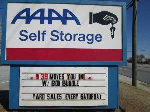 AAAA Self Storage & Moving - Lawrenceville - East Crogan