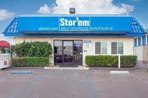 Stor'em Self Storage - Chula Vista Facility at  2776 Main St, Chula Vista, CA