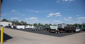 Image of Central Self Storage - Strang Line Facility on 11675 S Strang Line Rd  in Olathe, KS - View 2