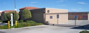 Image of Cathedral Village Self Storage Facility on 32500 Date Palm Dr  in Cathedral City, CA - View 2