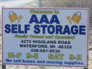 AAA Mini Storage - Waterford Township - 4275 Highland Road