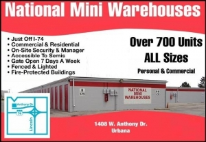 National Mini Warehouses Facility at  1408 West Anthony Drive, Urbana, IL