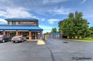 Image of CubeSmart Self Storage - Schererville Facility at 1104 West Lincoln Highway  Schererville, IN