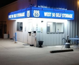 West 50 Self Storage Facility at  842 Mitchell Road, Sedalia, MO