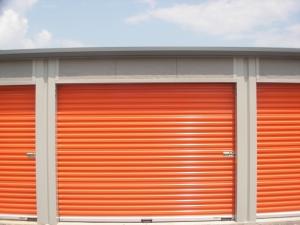 Orange Cube Storage