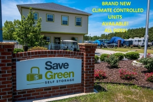 Save Green Self Storage - 3311 Enterprise Dr - Wilmington, NC (North Chase)
