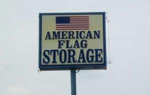American Flag - Ramsey Street