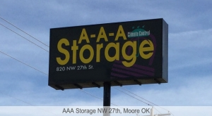 AAA Storage NW 27th