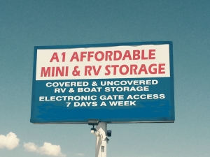 A-1 Affordable Mini RV Storage