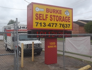 Image of Burke Self Storage Facility on 1009 Burke Road  in Pasadena, TX - View 2