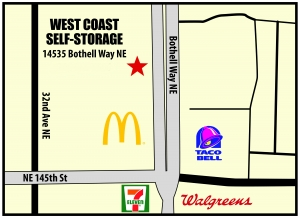 West Coast Self-Storage Sheridan Beach