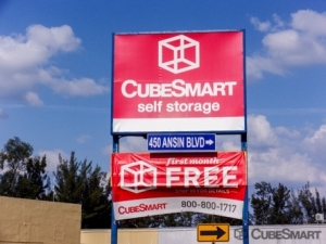 CubeSmart Self Storage   Hallandale Beach   450 Ansin Boulevard