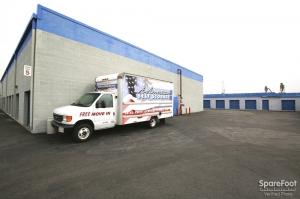 Image of A-American Self Storage - Santa Fe Springs Facility on 13443 Rosecrans Ave  in Santa Fe Springs, CA - View 2