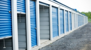 Blue & White Storage