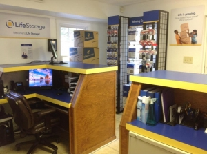 Image of Life Storage - Durham - 1200 East Cornwallis Road Facility on 1200 East Cornwallis Road  in Durham, NC - View 2