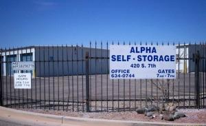 Image of Alpha Self Storage, Cottonwood Facility at 420 South 7th Street  Cottonwood, AZ