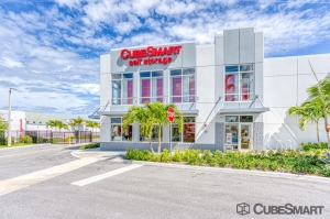 CubeSmart Self Storage - Delray Beach - 1125 Wallace Dr Facility at  1125 Wallace Drive, Delray Beach, FL