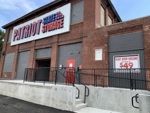 Patriot State Storage Facility at  204 Hartford Avenue, Providence, RI