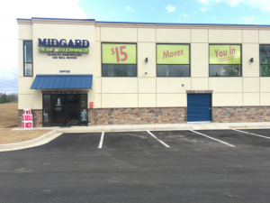 Midgard Self Storage - Gainesville GA Facility at  1405 Mcever Road, Gainesville, GA