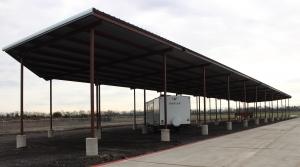 Hidden Grove Storage Facility at  17730 E State Hwy 56, Honey Grove, TX
