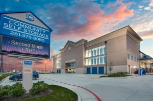 Community Self-Storage - 23155 Morton Ranch Rd - Katy Facility at  23155 Morton Ranch Road, Katy, TX