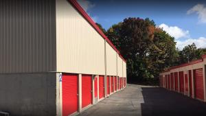 Image of Storage Rentals of America - Waterbury - East Main St Facility on 2454 East Main Street  in Waterbury, CT - View 2