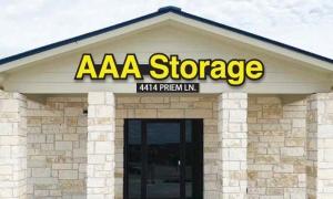 AAA Storage Gattis School Facility at  4414 Priem Lane, Pflugerville, TX
