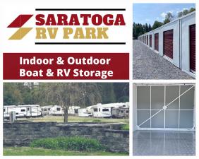 Saratoga RV Park, Self-Storage & RV and Boat Storage Facility at  4894 New York 50, Gansevoort, NY