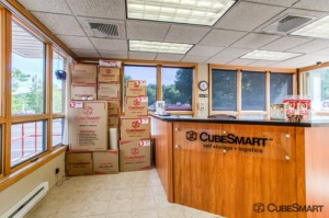 Image of CubeSmart Self Storage - Gales Ferry Facility on 1501 Route 12  in Gales Ferry, CT - View 2