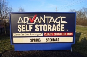 Image of Advantage Self Storage - Miamisburg Facility on 3600 Benner Rd  in Miamisburg, OH - View 4