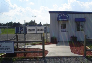 Big Blue Self Storage Facility at  111 Dyke Rd, Frankfort, NY