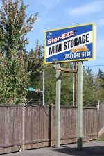 Image of Stor-Eze Heated Self Storage Facility on 12820 Woodland Ave E  in Puyallup, WA - View 2