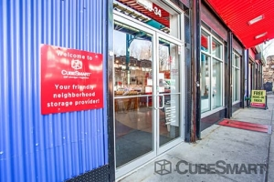 Image of CubeSmart Self Storage - Woodhaven Facility on 9834 Jamaica Ave  in Woodhaven, NY - View 2