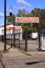 Image of South Shore Self Storage Facility at 7843 S Exchange Ave  Chicago, IL