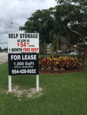 Image of Trail Park Self Storage Facility on 222 S Military Trl  in Deerfield Beach, FL - View 2