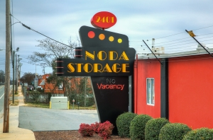 Image of NoDa Self Storage Facility on 2401 N Davidson St  in Charlotte, NC - View 3