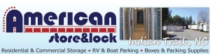 Image of American Store & Lock #1 Facility at 3815 Matthews-Indian Trail Road  Stallings, NC