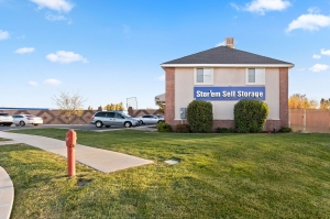 Image of Stor'em Self Storage - Lehi Facility on 1985 Pointe Meadow Dr  in Lehi, UT - View 2