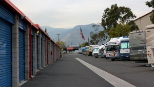 Image of Price Self Storage Azusa Facility on 1110 W Foothill Blvd  in Azusa, CA - View 2