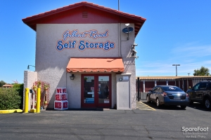 Image of Gilbert Road Self Storage Facility on 405 N Gilbert Rd  in Gilbert, AZ - View 2