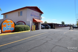 Image of Gilbert Road Self Storage Facility on 405 N Gilbert Rd  in Gilbert, AZ - View 3