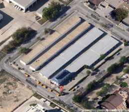 Image of Alamo Broadway Mini-Storage Facility on 1999 Gulfmart Dr  in San Antonio, TX - View 2