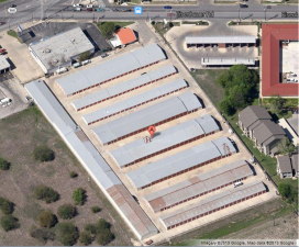 Image of Alamo Eisenhauer Mini-Storage Facility on 3500 Eisenhauer Rd  in San Antonio, TX - View 2