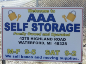 AAA Mini Storage - Waterford Township - 4275 Highland Road - Photo 1