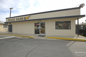 Image of Space Bank Mini Storage - Pasadena Facility on 3202 East Foothill Boulevard  in Pasadena, CA - View 2