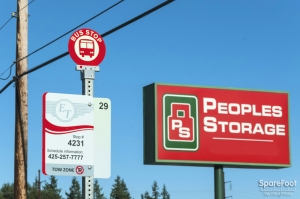 Picture of Peoples Storage - Everett