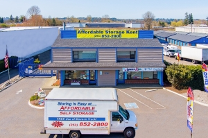Image of Affordable Self Storage - Kent Facility at 1721 Central Ave S.  Kent, WA