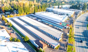 Image of Mill Creek Self Storage Facility on 18205 Bothell Everett Hwy  in Bothell, WA - View 2