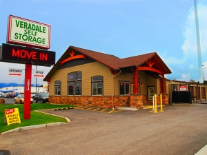 Image of Veradale Self Storage Facility on 16714 E Sprague Ave  in Spokane Valley, WA